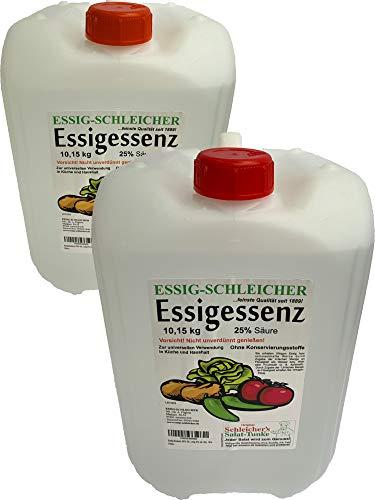 Essig-Schleicher Essenz 25% Säure 20,3 kg (2x10,15kg Kanister)