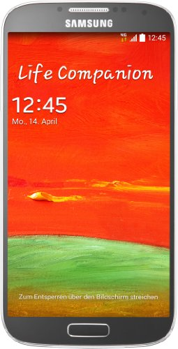 Samsung Galaxy S4 Smartphone (12,7 cm (5 Zoll) Super AMOLED-Touchscreen, 16 GB interner Speicher, 13 Megapixel-Kamera, Android 4.4) silber