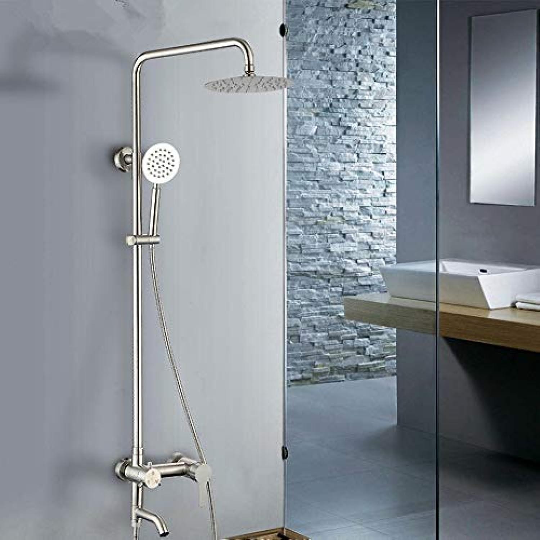 Lxc 304 Edelstahl Duschset Hause Multifunktions Heben Handheld Dreistufige Dusche Dusche Aufgeladenen Duschkopf Komfort erleben