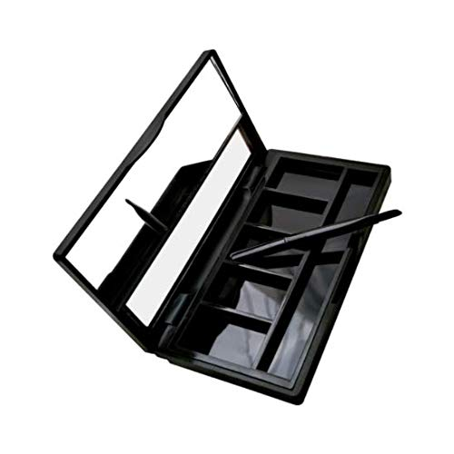 DNHCLL Five Grid Boxes with A Skylight Diy Lipstick Tray Homemade Eye Shadow Empty Boxes for Women Girls To Use Makeup