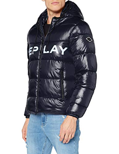 Replay Herren M8091 .000.83834 Jacke, 86 Blue, M