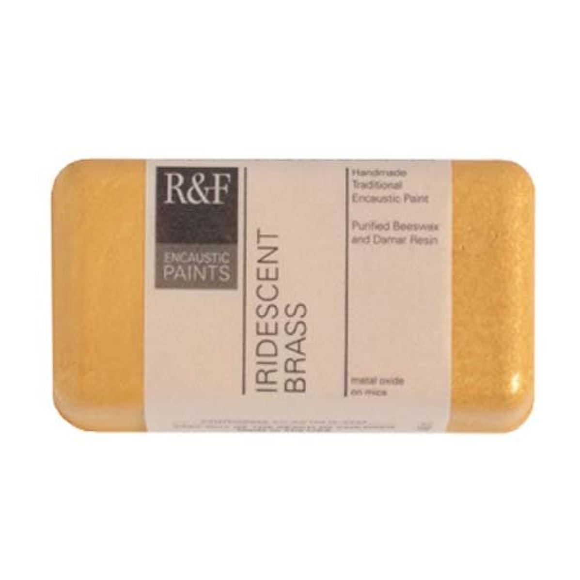 R&F Encaustic 40ml Paint, Iridescent Brass
