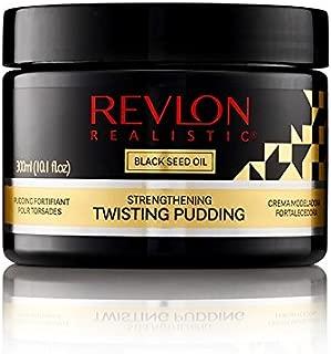 Revlon Realistic Black Seed Oil Strengthening Twisting Pudding Flake-free 10.1 Oz (300ml) (10.1oz, Single)