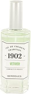 1902 Vetiver by Bérdóúéš for Women Eau De Cologne Spray (Unisex) 4.2 oz