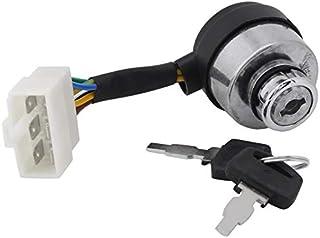 NO LOGO EG-BIANSU, Interruptor 1PC 6 Alambre de Encendido de Inicio for 2.5-6.5KW 188F generador de Gas Accesorios Generador de Gasolina (Size : 4.2cm/1.65inch)