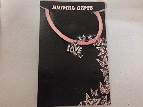 Colgante de plata tibetana con cordón rosa, hecho a mano, 41 cm y detalles muy finos, viene con embalaje de venta CH35