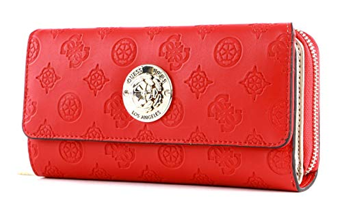 Guess Dayane SLG Large Clutch Organizer Red