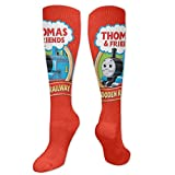 Thomas The Tank Engine & Friends Unisex Casual Comfortable Over The Calf Socks