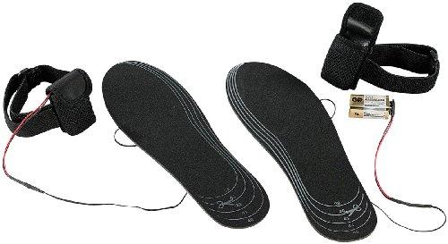 infactory 1 Paar beheizte Schuheinlagen für alle Schuhgrößen