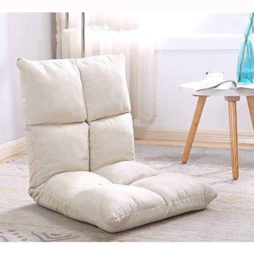 AiHerb.LO JL HX Japonais Canapé Paresseux Tatami Pliable Simple Petit Canapé-lit Chaise D'ordinateur Dortoir Baie Fenêtre Chaise A+ (Couleur : F)
