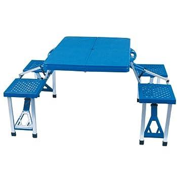 Ensemble table et chaises jardin pliant camping pique nique Salon extérieur pliable