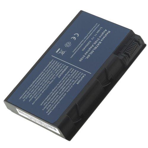 Batteria POTENZIATA 5200MAh 11.1V Per Portatile Acer Aspire 5100, 5101, 5101AWLMi, 5102, 5102AWLMiP120, 5102AWLMiP80, 5102AWLMiP80F, 5102WLCi, 5102WLCiF, 5102WLMi, 5102WLMiF, 5103WLMi, 5103WLMiP120
