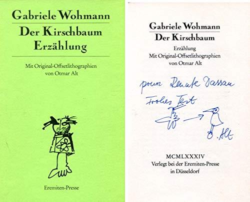 ARTIST Otmar Alt autograph, signed book