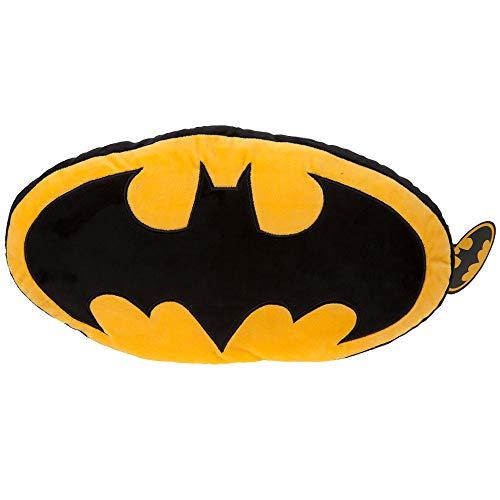 Batman 301000 Logokissen, groß, offizielles Lizenzprodukt, Mehrfarbig, 46 cm