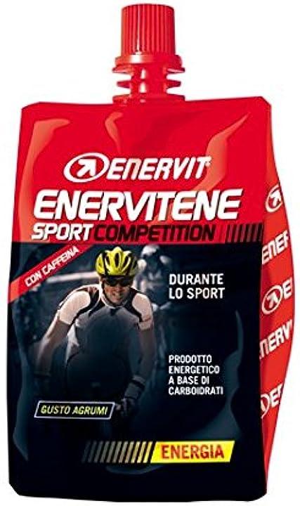 Enervit enervitene sport competition gusto agrumi con caffeina, confezione da 18 cheerpack B01N140250