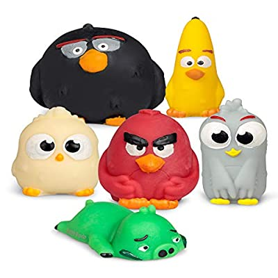 Tobar 36749 Angry Birds Squishy Buddies, Assorted