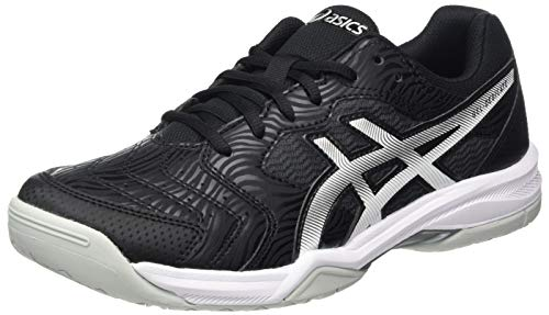 Asics Gel-Dedicate 6, Tennis Shoe Hombre, Black White, 40 EU