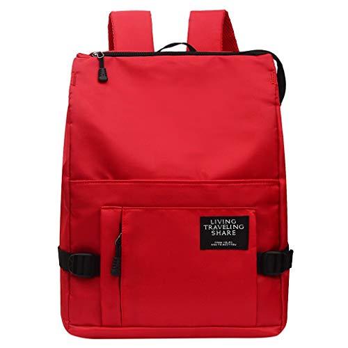 profesional ranking 4 bolsos juveniles casuales de un solo color, diseño sencillo, colegio, mochila… elección