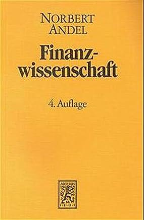 Finanzwissenschaft / Finanzwissenschaft : B�cher
