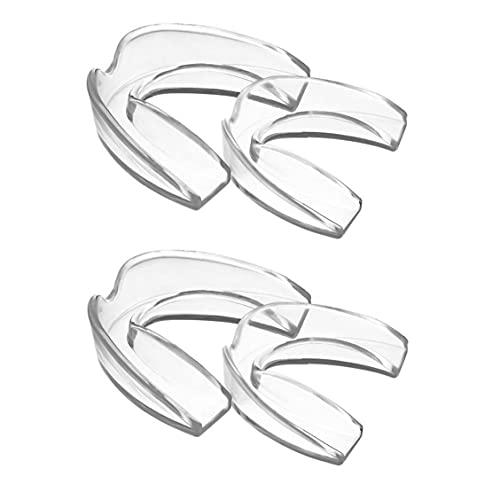 Professional Dental Guards Whitening bitje Anti Grinding Dental Nachtwaker voor tandenknarsen 4 stuks