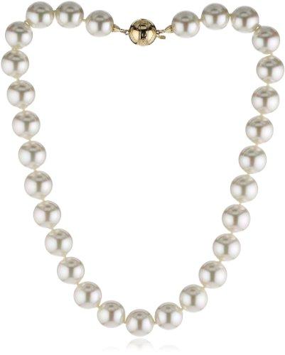 Majorica Basico - Collar de Plata de Ley con Perla