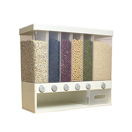 Younoo Distributeur de Céréales - Distributeur de Céréales et de Nourriture Sèche à Fixation Murale pour...