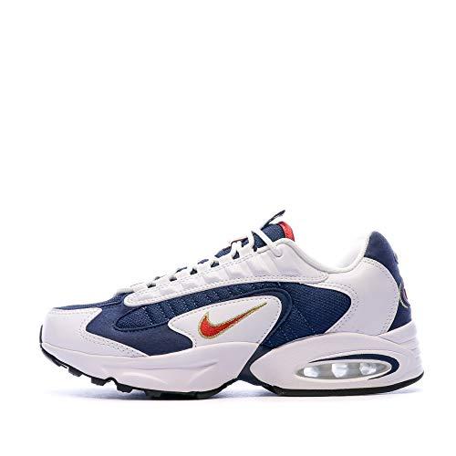 Nike Air MAX Triax USA, Zapatillas para Correr Hombre, Midnight Navy/University Red/White, 40.5 EU