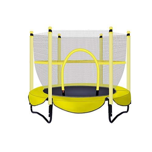 Xiao Jian trampoline voor binnen, trampoline, rebot, starthulp voor kinderen, bedafdekking met afdekking voor de familie van de springveren (ingeklapt), diameter 1,5 m