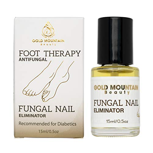 Nail & Toenail Fungus Treatment - Fungal Nail Eliminator with Tolnaftate formulated by Physician to Cure Athlete's Foot Therapy & Infected Toe Nails Fungus (0.5 Ounce (Pack of 1))