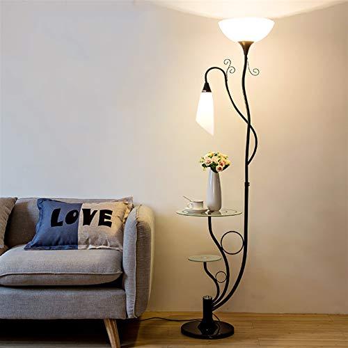 Qsdxlsd Lámpara de Piso Moderna nórdica Flor LED de pie Lámparas for el Dormitorio de Estar Sala de Estudio lámpara de Escritorio de la decoración del hogar Iluminación de Interior Luminarie