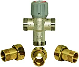 3/4 inch Union NPT Proportional Thermostatic Mixing and Diverting Valve