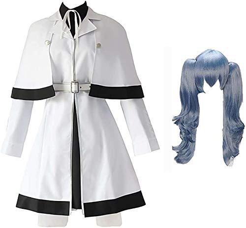 Anime Tokyo Ghoul Cosplay Kostüme Kirishima Touka Cosplay Kostüm Schwarze Lederjacke Battle Uniform Leder Rock Outfit Mit Perücke