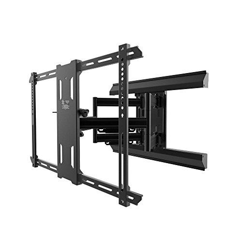 Kanto Full Motion PMX660 Pro Series Mount for 37' to 80' Flat Panel TVs, Black