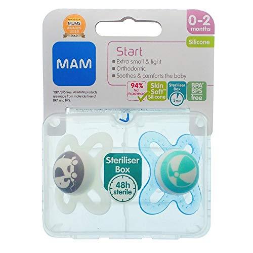 MAM Start - 2 x MAM Schnuller (Elefant/Ball)