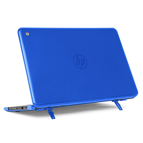 mCover Hard Shell Case for Late-2019 14\' HP Chromebook 14-CA1xxx Series (NOT Compatible with Older HP C14 G1 / G2 / G3 / G4 / G5 / 14-CA0xxx Series) laptops (Blue)