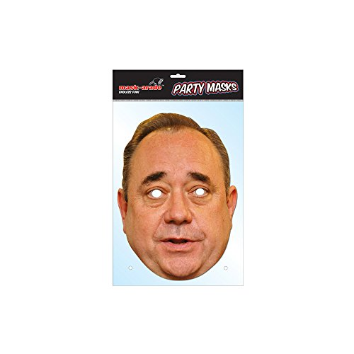 Alex Salmond Face Mask, Mask-arade Face Card Mask, Character Fancy Dress