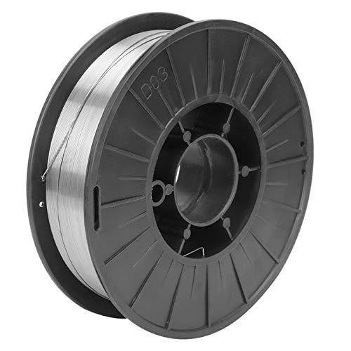Alambre de soldadura sin Gas con Núcleo de fundente, E71T-GS, Ø 0.8mm 4.5KG, para soldadura eléctrica y reparación de bricolaje