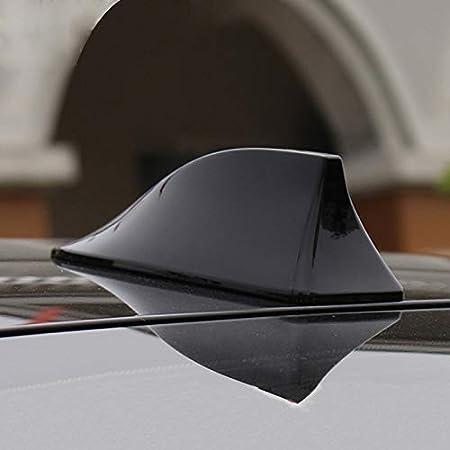 Universal Auto Shark Hai Antenne Dachantenne Haifisch Am Fm Schwarz Auto