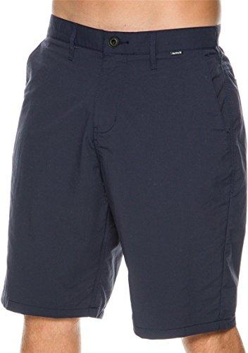 Hurley Men's Dri-Fit Chino 22 Walk Short, Dark Obsidian, 30 X 10