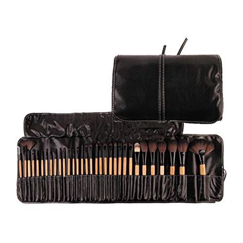 BXGZXYQ Profession Maquillage Pinceau Ensemble Outils Maquillage Trousse De Toilette Fibre Cosmétique Pinceau Maquillage Pour Les Yeux Avec Emballage 32 En 1 Pinceau À Sourcils Whitewash