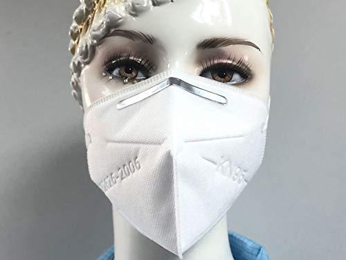 Masque respiratoire auto-amorçant type de filtre anti-particules, KN95 Standard pour le nettoyage, le bricolage, la construction, l'utilisation à la maison,le travail du bois, encore (20)
