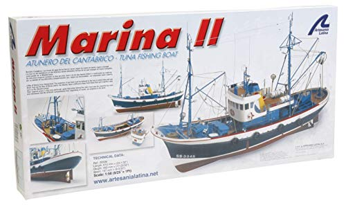 Artesanía Latina 20506. Maquette Bateau en Bois Marina II 1/50