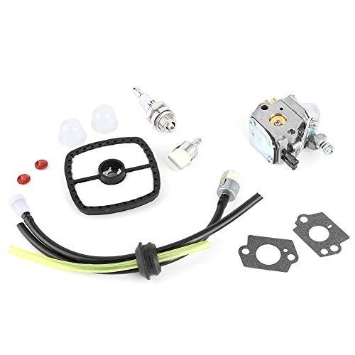 Alinory Kit de carburador, carburador de Alta dureza, carburador de Motosierra Duradero de Aluminio de Repuesto para carburador, para C1U-K51 HC1500
