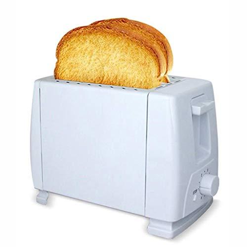 Metall Klassische Toaster Edelstahl Brot-Maschine 2 Scheibe Extra Wide Slots Retro Bagel Toaster mit 6-Gang Temperatureinstellung Hotdog Brotbackmaschine (Size : 20.5×12×16cm)