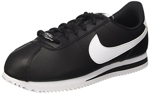 Nike Cortez Basic SL (GS), Scarpe Running Unisex-Adulto, Nero (Black/White 001), 38.5 EU