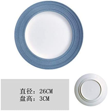MZXUN Snowflake Shipping included Glaze Plate New York Mall Dish Steak Ceramic K Tray