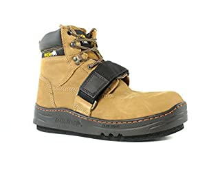 Breathable inside boot lining helps keep foot dry and comfortable for the duration of any roofing job Vented exterior helps to wick away moisture and dry boot as fast a possible Full grain leather on upper portion of the boot is extremely durable and...