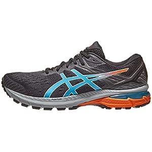 ASICS Men's GT-2000 9 Trail Running Shoes, 11, Black/Digital Aqua