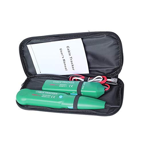 Professional Telephone Phone Wire Network Cable Tester Line Tracker with Carrying Bag For MASTECH MS6812