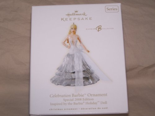 2008 Celebration Barbie Hallmark Ornament 9th in the series